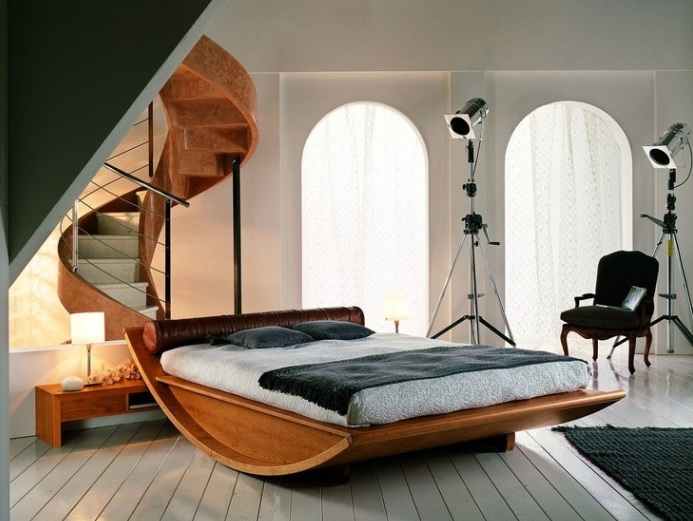 Кровать-качалка.