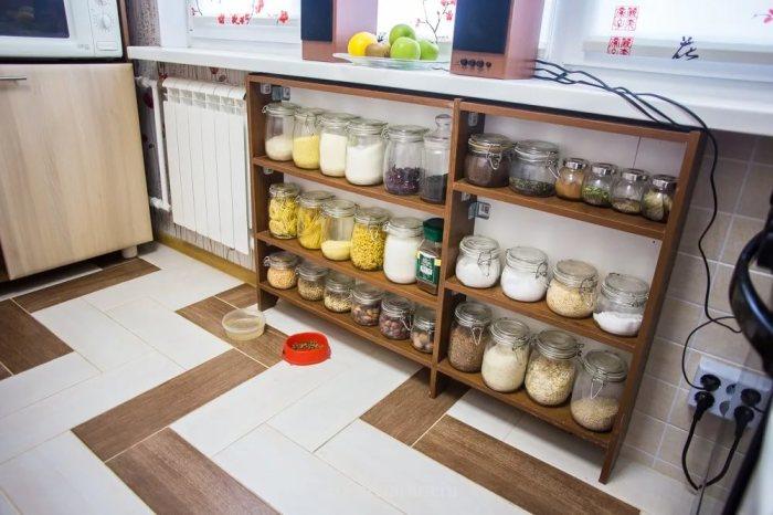 Полки под подоконником в кухне Купить стенку-горку для 2017