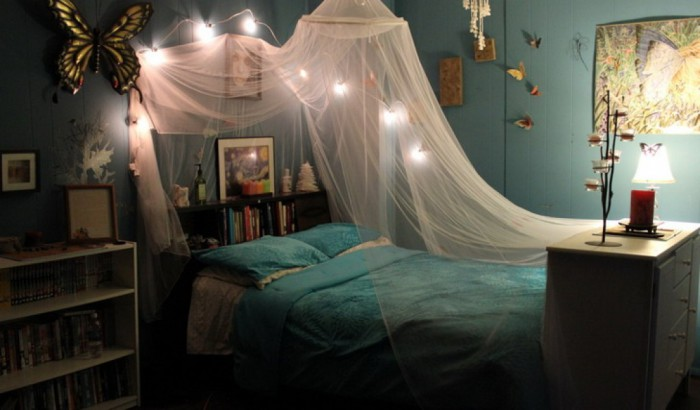 Балдахин преобразит интерьер детской комнаты.