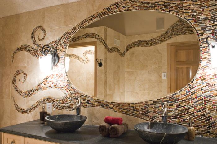 mirror2 Самостоятельное декорирование зеркала