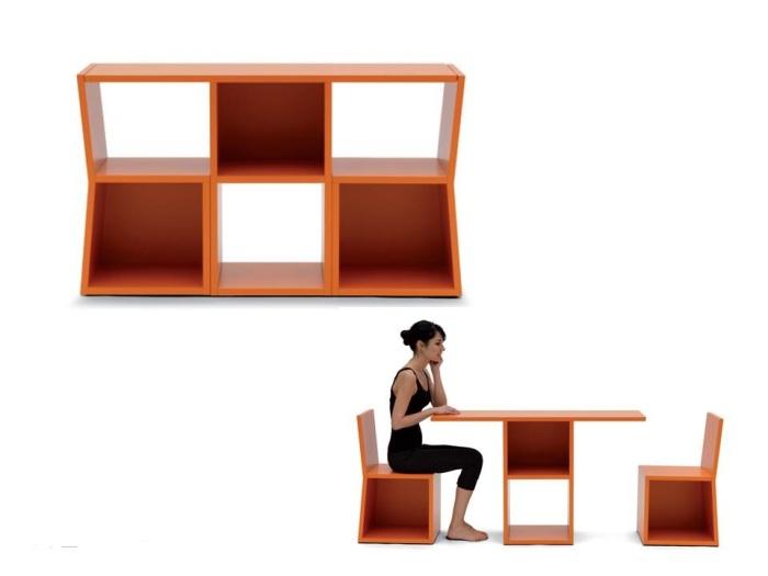Мебель с тремя функциями.
