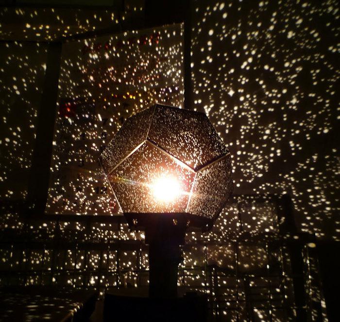 Светильник-звездное небо.