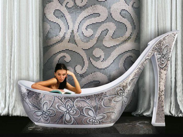 Ванна, которая не оставит женщин равнодушными.