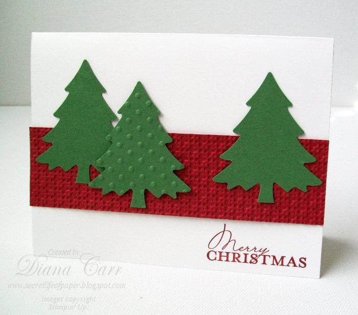 Необычная и простая новогодняя открытка своими руками.