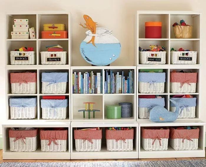 Коробки помогут навести порядок в доме.
