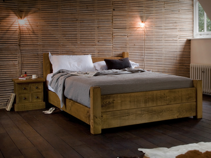 Solid Wooden Sheesham Beds  Mango Wood Beds