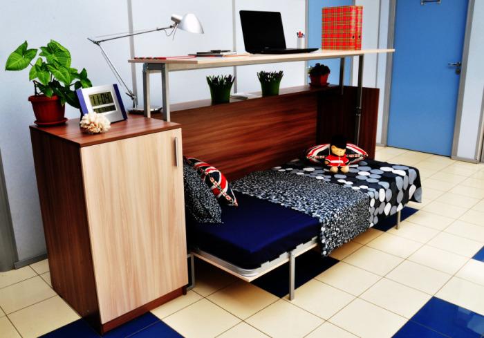 Мебель, способная заменить комнату.