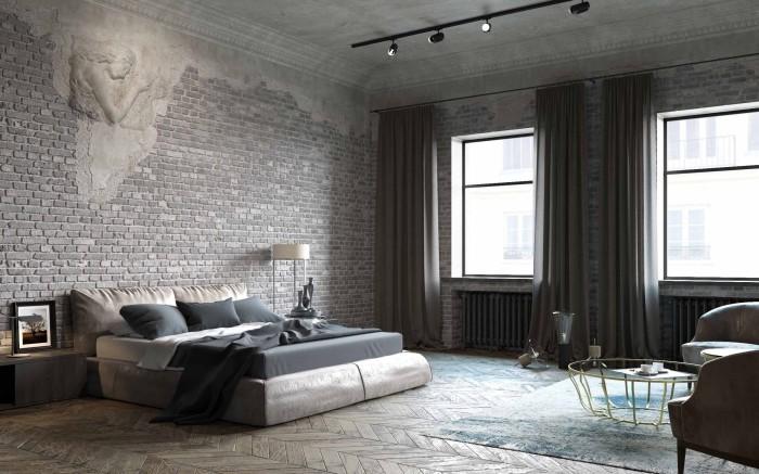 Свободная комната выглядит просторнее и свежее.