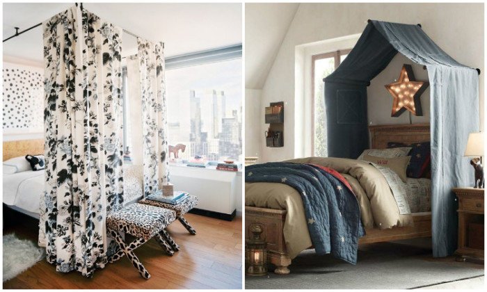 Оригинальные балдахины для спальни.