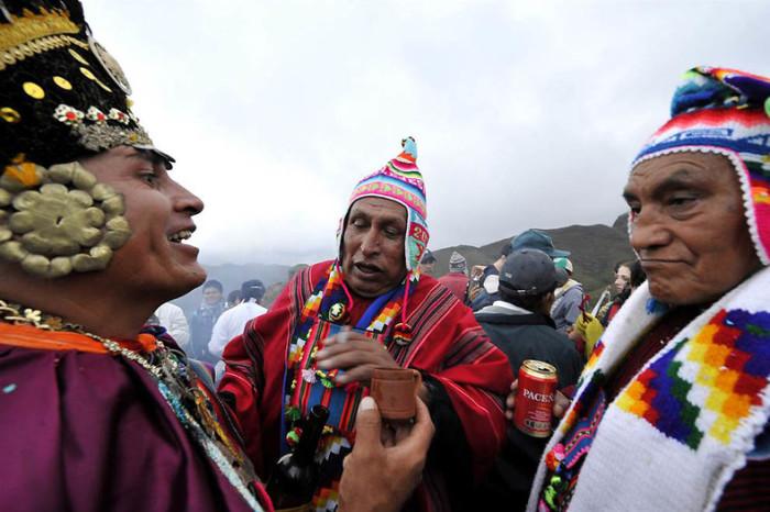 Чилийская новогодняя традиция - приветливость и дружелюбие.