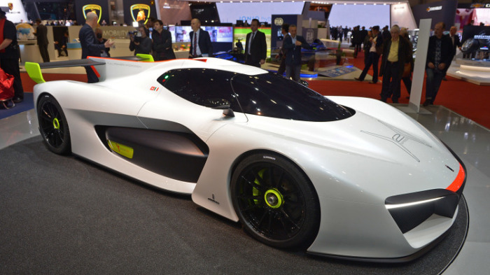 Pininfarina H2 Speed- концепт с силовой водородной установкой