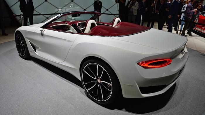 Будущее электромобилей премиум-класса.