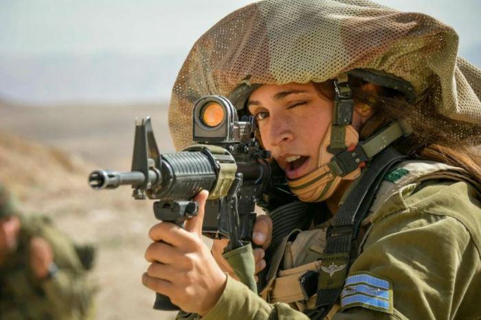 Вы на прицеле израильской армии, сдавайтесь! /Фото: ya.ru.