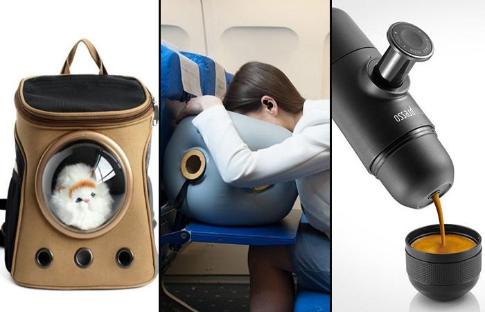 Оригинальные вещи и устройства, которые сделают путешествие комфортным