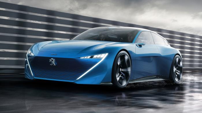 Инновационный гибрид Peugeot.
