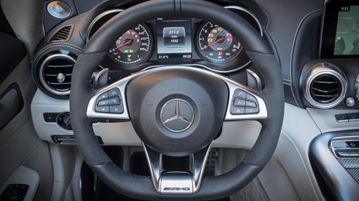 2018 Mercedes-AMG GT C Roadster.