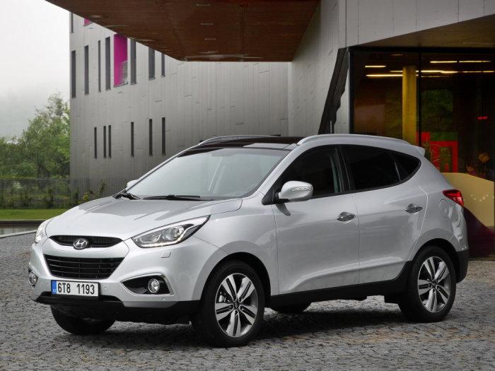 Выглядит Hyundai ix35 интересно, но лучше не брать.