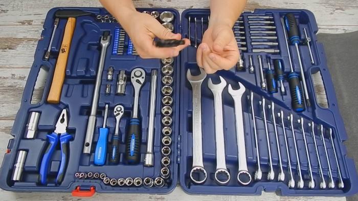 Все инструменты должны быть качественными.
