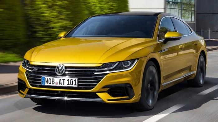 Необычный и интригующий VW Arteon найдет, чем удивить.