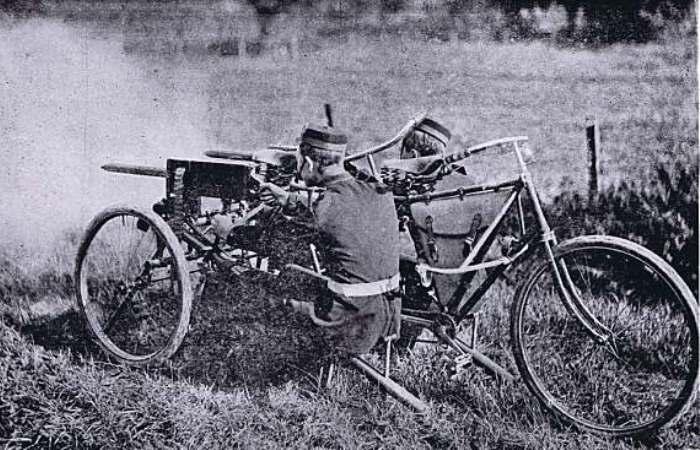 Ужасные транспортные средства Первой мировой войны.