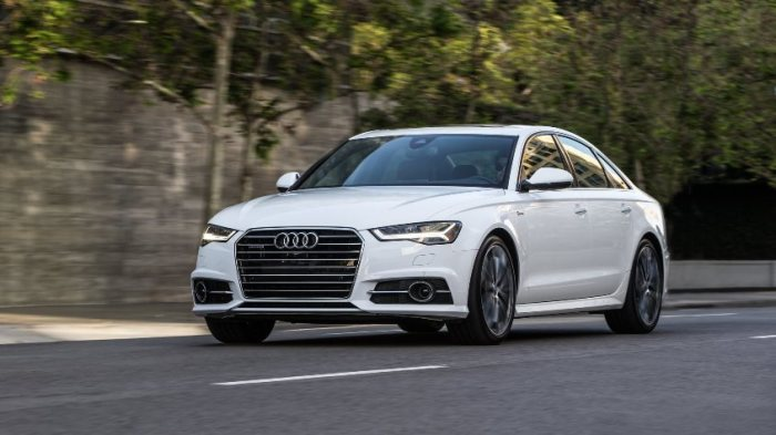 Потрясающий Audi A6.