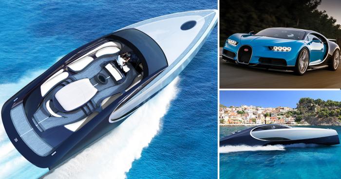 Автомобиль и яхта - братья близнецы.