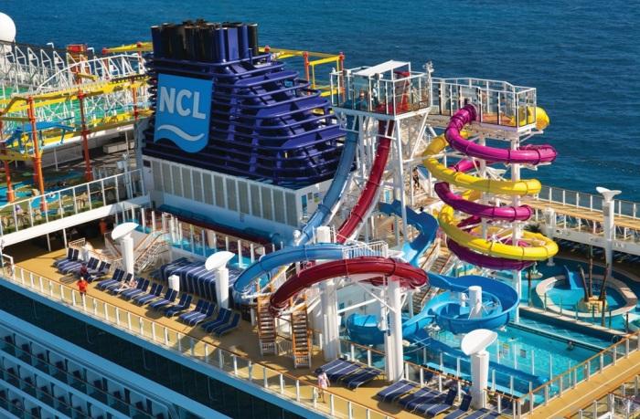 Есть свой аквапарк. /Фото: cruisewithgambee.com.