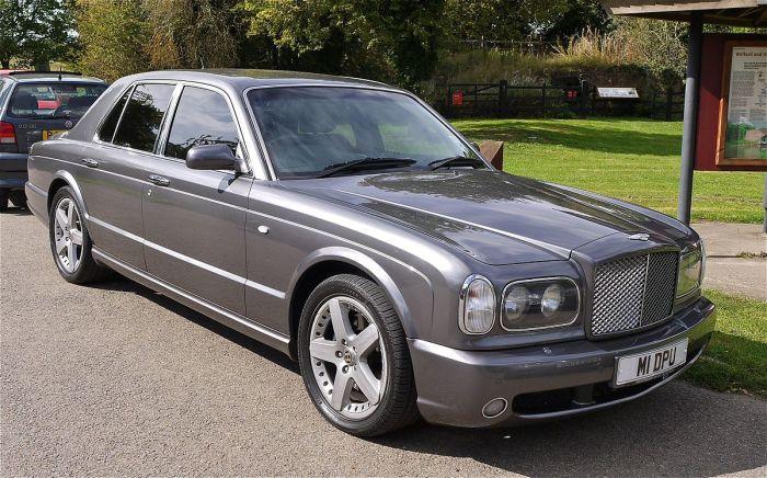 Максим Галкин обожает Bentley Arnage.