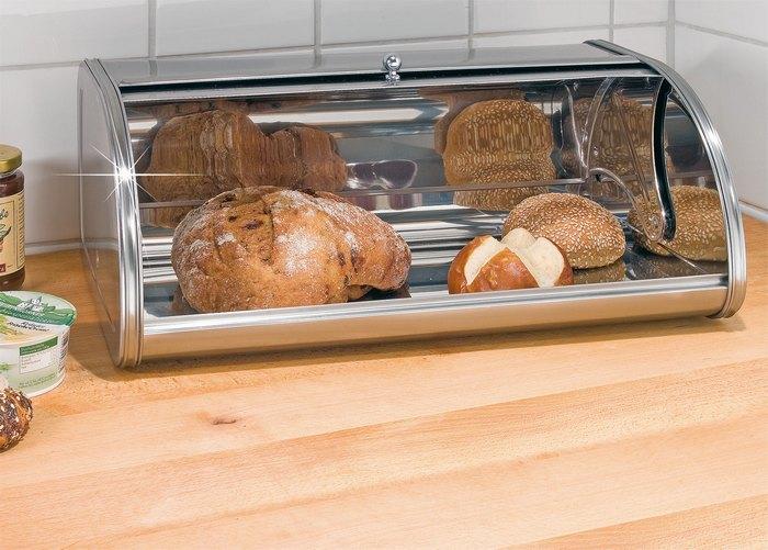 Перестаем для начала хранить разный хлеб. /Фото: hit-dekor.ru.