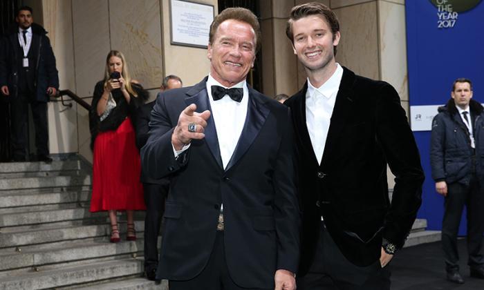 Арни и Патрик. /Фото: pagesix.com.