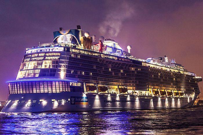 Очень большой корабль. /Фото: travel.com.vn.