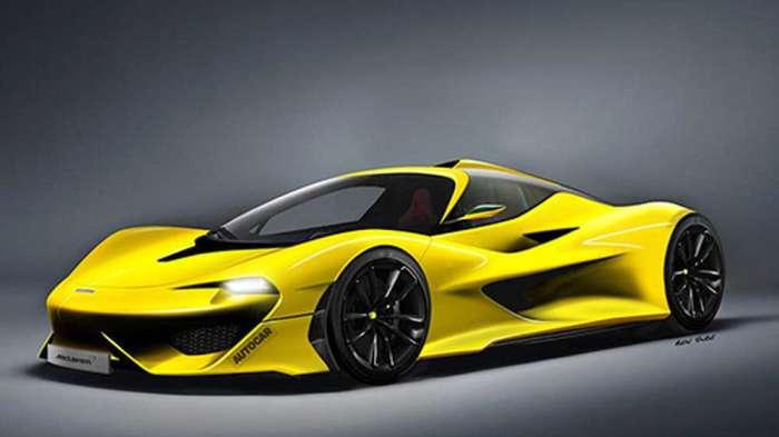 Автомобиль McLaren BP23 полностью стоит своих денег.