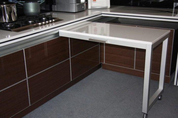 Отличное решение для небольшой кухни.