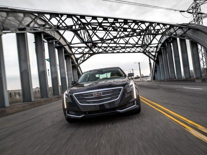 В Cadillac CT6 все для людей.