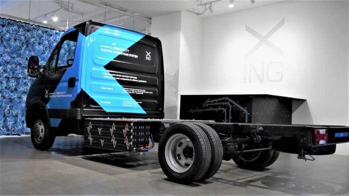 На этой же технологии создан грузовик.