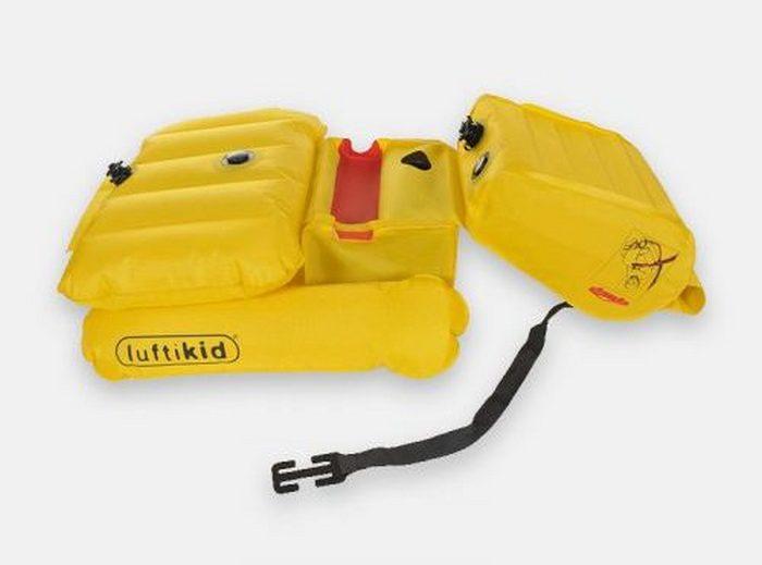 Комплект Luftikid - надёжная система безопасности в авто.