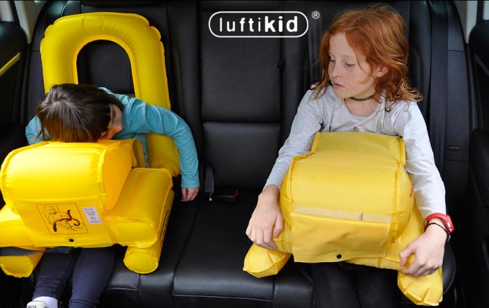 «Спасательный жилет» для детей в автомобиле.