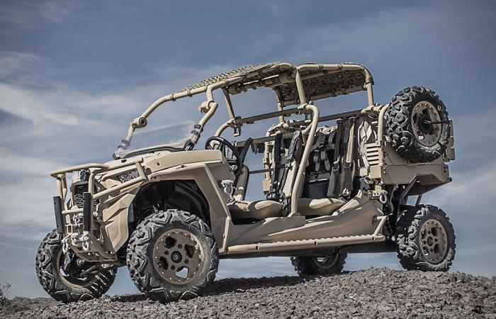 Внедорожник Polaris MRZR X для военных и спасателей.
