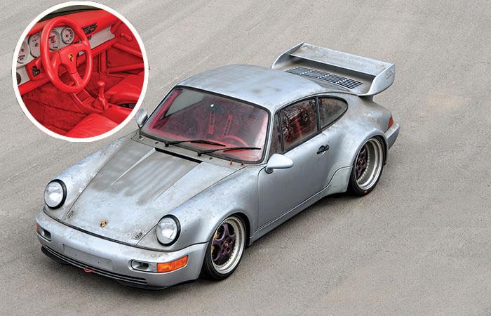 Porsche 911s для стиляг, который «пробежал» всего 10 километров за четверть века