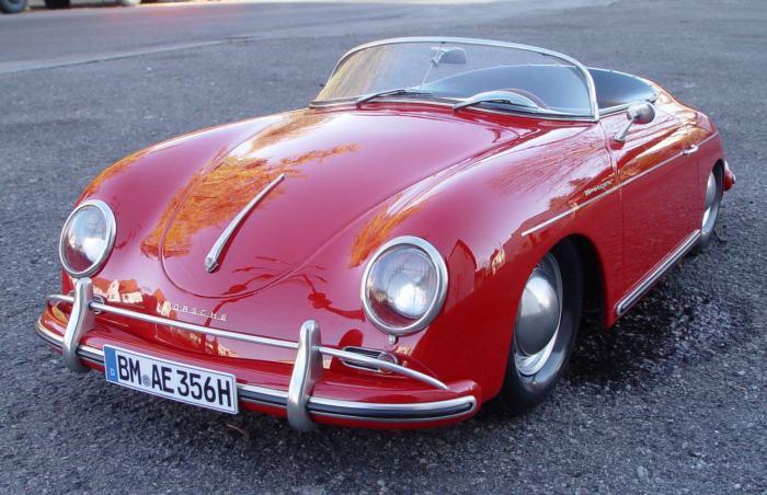 Легендарный Porsche 356.