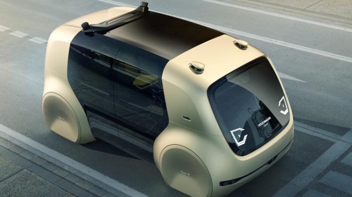Автономный автомобиль от компании Volkswagen.