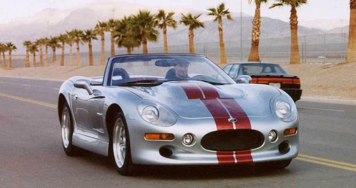 Суперкар-кабриолет Shelby Series I.