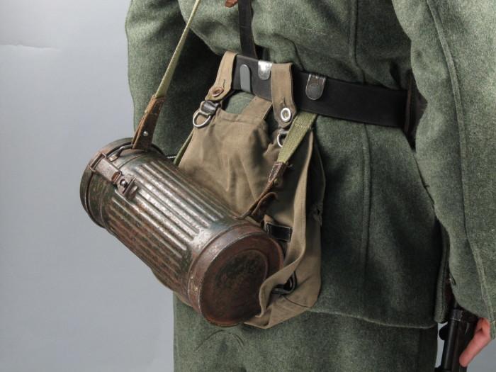 Это такая противогазная сумка. /Фото: militarist.ua.