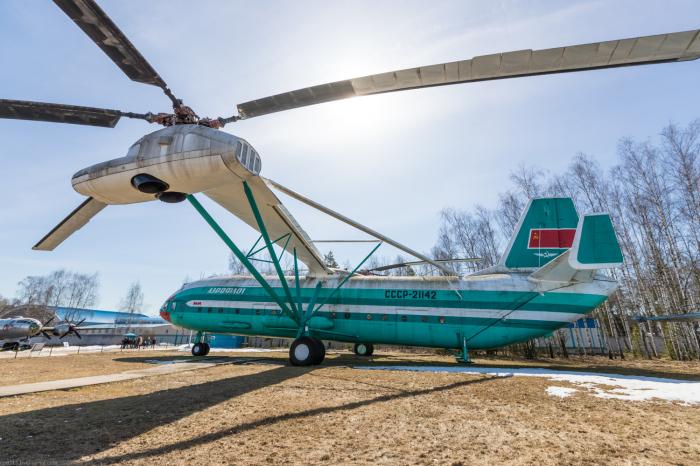 Сегодня вертолет стоит в музее. /Фото: 123ru.net.
