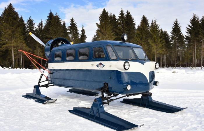 Советские аэросани для покорения Севера.