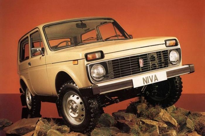 Праворульный ВАЗ-21212 на экспорт.