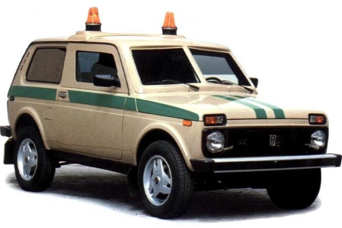ВАЗ-212182 для инкассаторов.