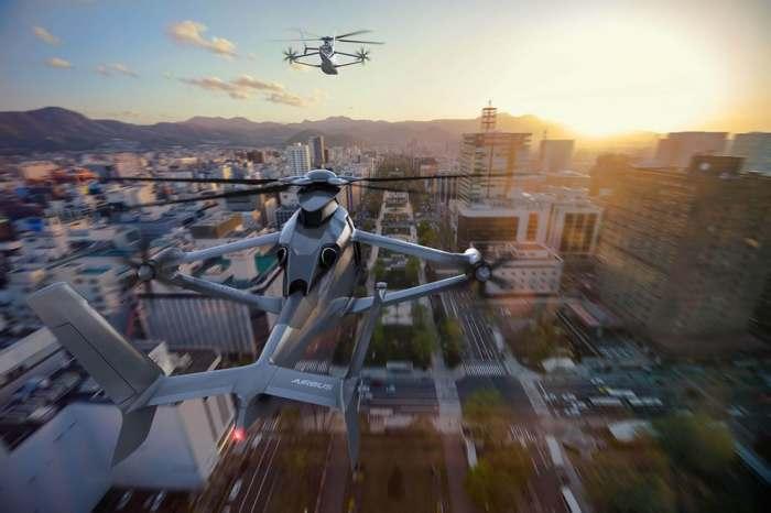 Крылатый вертолёт от Airbus.