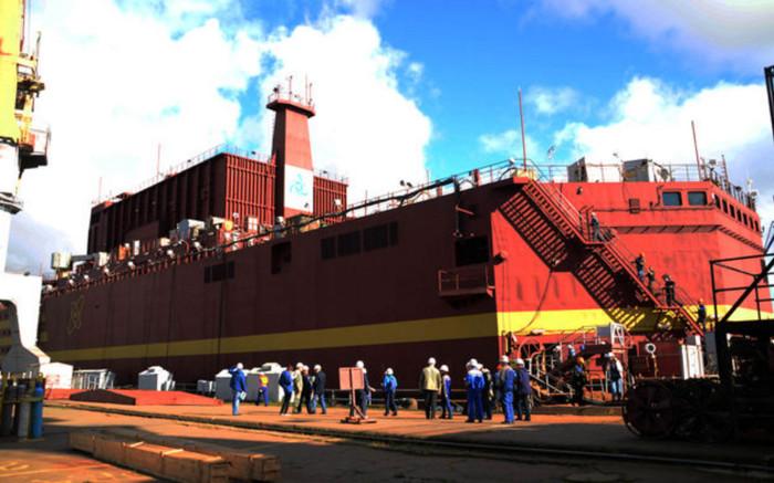 Действительно большой корабль.