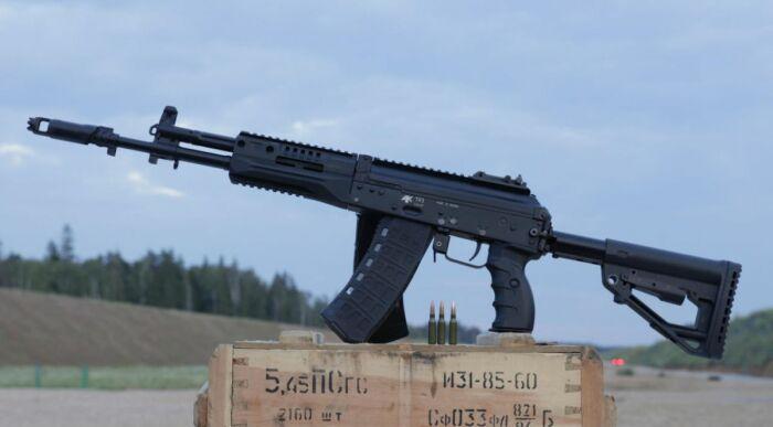 Новый карабин на базе автомата. /Фото: glas.ru.